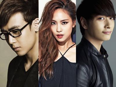 Nichkhun, Fei Miss A dan Chansung 2PM Ikut Bintangi Variety Show Romantis Cina