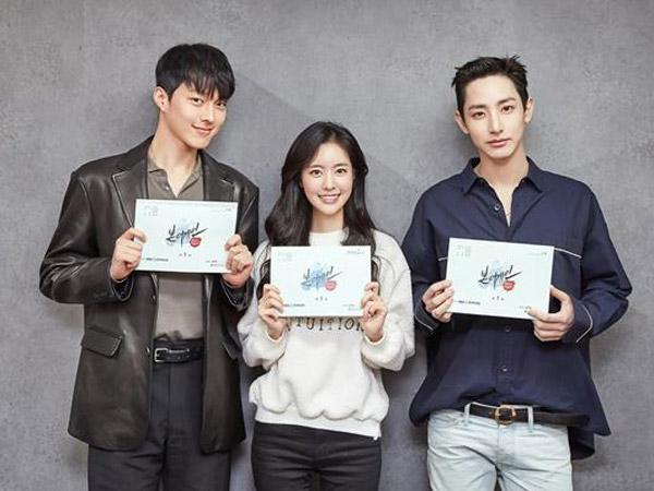 Jang Ki Yong, Jin Se Yeon, dan Lee Soo Hyuk Serius Bangun Chemistry untuk Drama 'Born Again'
