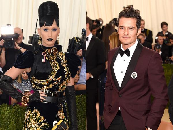 Katy Perry dan Orlando Bloom Tampil Unik dengan Tamagochi Untuk Met Gala
