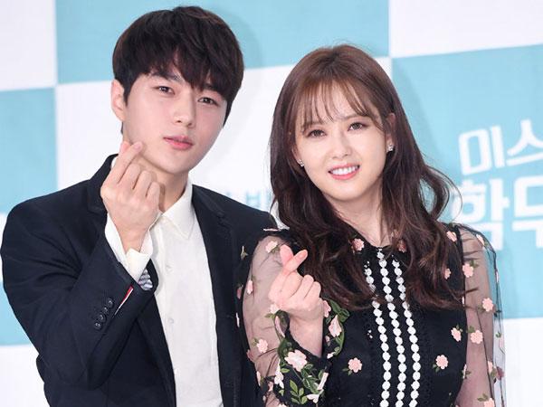 Go Ara Kirim Dukungan Manis untuk Mantan Lawan Main Kim Myungsoo