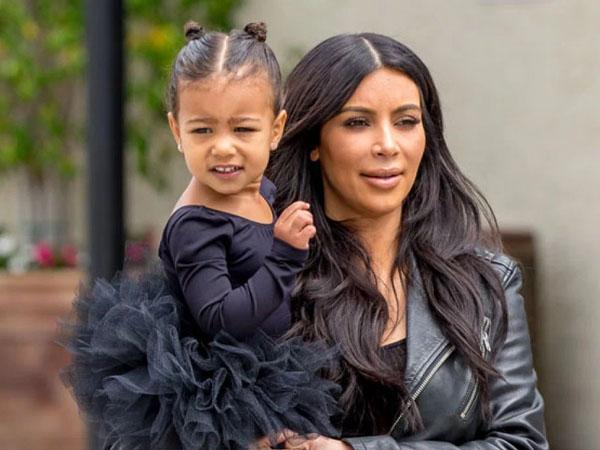 Wah, North West Tak Suka Kim Kardashian Hamil