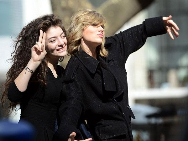 Kata Lorde Soal Kabar Pertemanannya yang Renggang dengan Taylor Swift