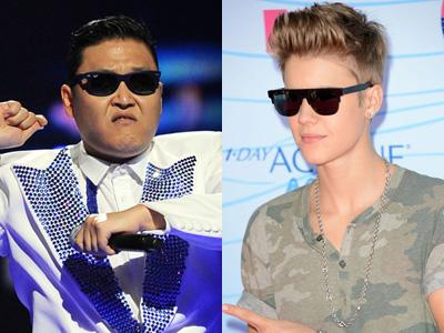 Psy Akan Kolaborasi Dengan Justin Bieber?