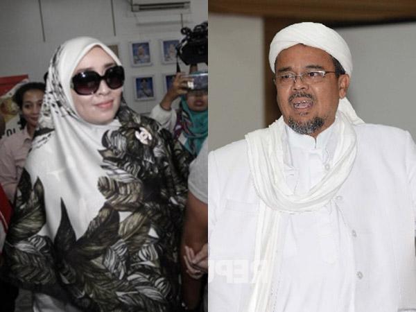 Konten Chat Pornografi Habib Rizieq-Firza Husein Pertama Kali Muncul dari Anonymus di Amerika?