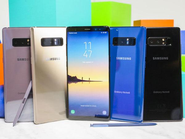 Kamera Ganda dan Sederet Fitur Canggih di Samsung Galaxy Note 8