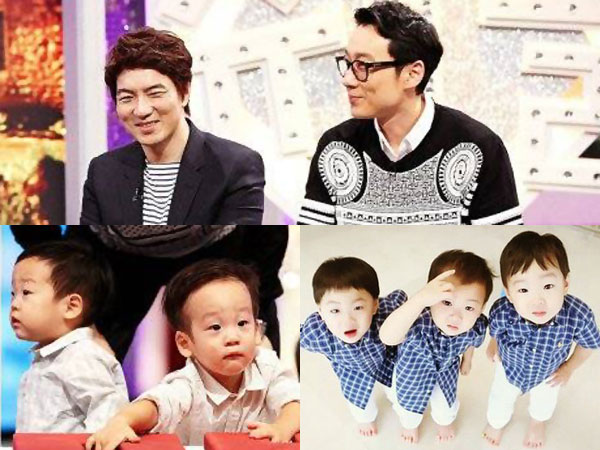 Serunya Ketika Song Il Gook & Lee Hwi Jae Ajak Anak Kembar Mereka Main Bersama!
