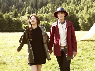 Gaya Hiking Stylish Suzy dan Kim Soo Hyun untuk 'Bean Pole'