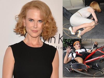 Baru Sekali Kunjungi Fashion Week, Nicole Kidman Kena Musibah