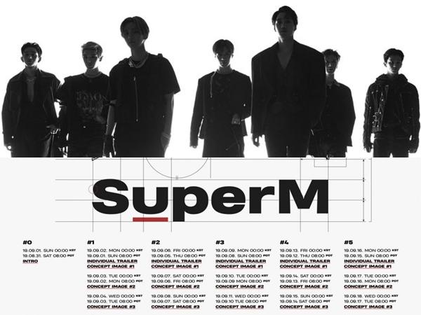 SuperM Umumkan Jadwal Perilisan Music Video Hingga Tanggal Debut!