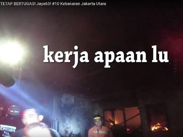 Ungkapan Hati Petugas Damkar yang Videonya Viral Dicaci Maki Warga Saat Padamkan Api