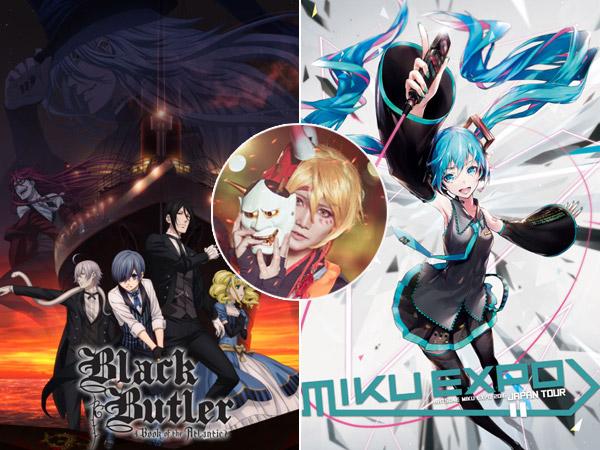 'Black Butler' hingga Hatsune Miku Siap Meriahkan Pesta 'Screening' C3AFA 2017!