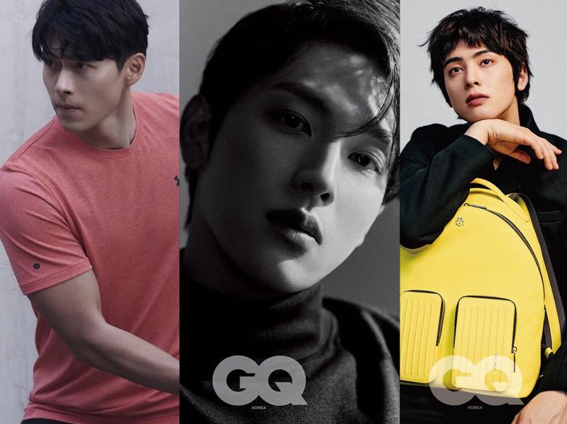 Beda Pesona Hyun Bin, Im Siwan, dan Cha Eunwoo Hiasi Majalah GQ Korea Edisi Baru