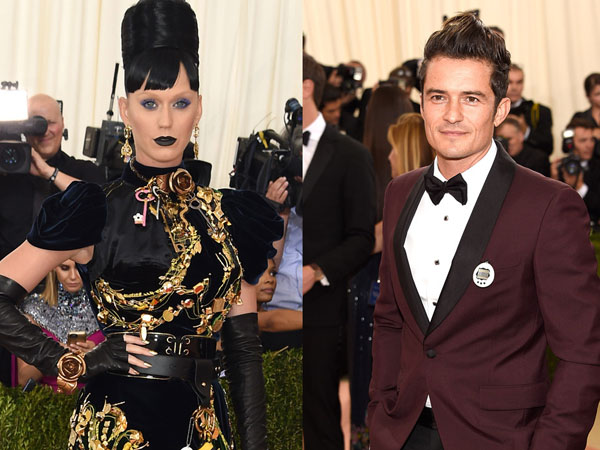So Sweet, Orlando Bloom dan Katy Perry Pakai Gelang Couple