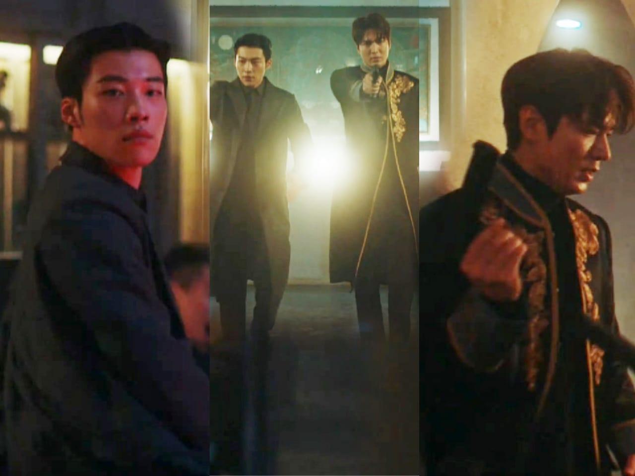 Adegan Baku Tembak Lee Min Ho x Woo Do Hwan Lawan Lee Jung Jin Pukau Penonton
