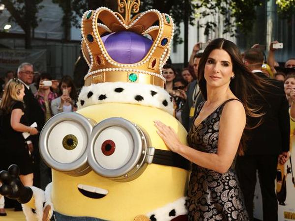 Sandra Bullock Isi Suara 'Minions' Demi Bahagiakan Sang Anak