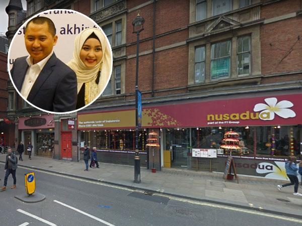 Melihat Mewahnya Restoran Milik Bos First Travel di Inggris