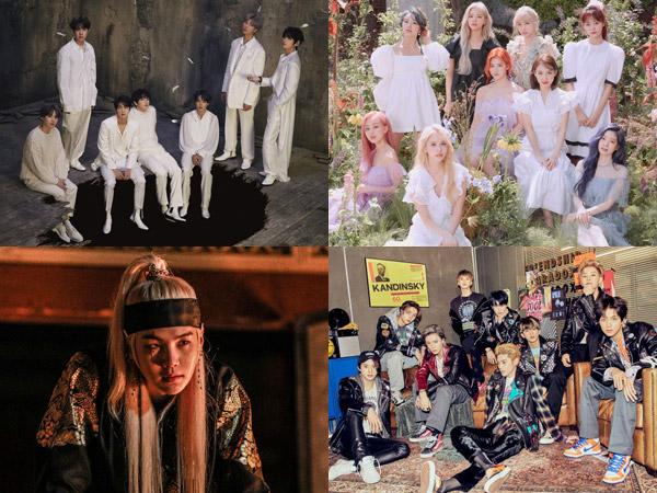 Naik-Turun Peringkat di Chart Billboard World Albums Minggu Ini, TWICE Debutkan Album Baru