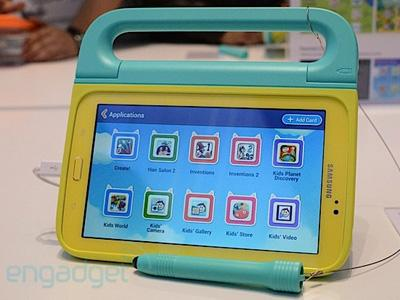 Tab Khusus Anak-anak, Samsung Galaxy Tab 3 Kids Rilis November
