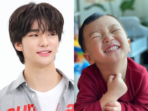 Gemasnya Interaksi Hyunjin Stray Kids dan Hao Anak Kang Gary