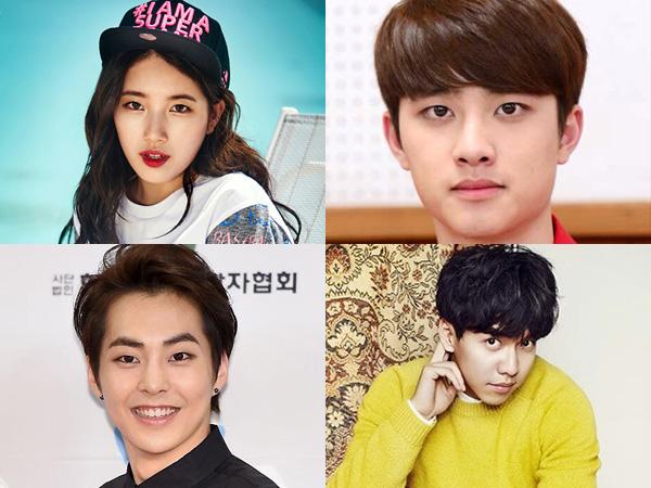 Empat Idola K-Pop Terkenal Ini Siap Hiasi Proyek Layar Lebar Di Tahun Depan!