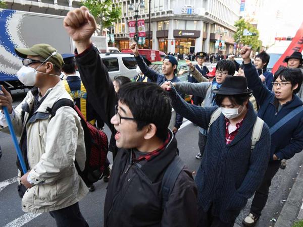 Merasa Didiskriminasi Saat Natal, Para Jomblo di Jepang Lakukan Demonstrasi