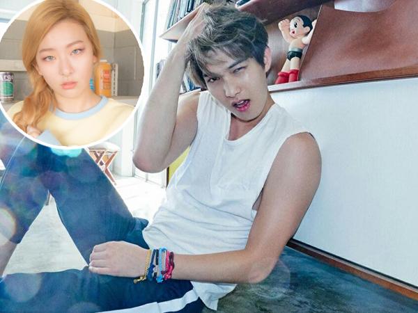 Jonghyun CNBLUE Naksir dengan Seulgi Red Velvet?