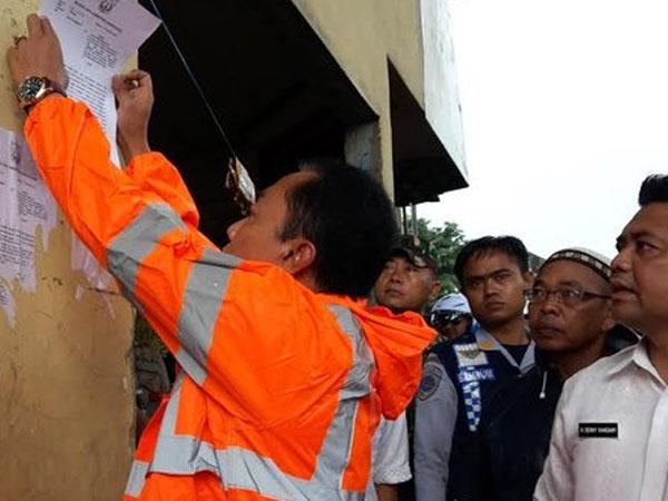 SP2 Disebar ke Warga Kalijodo, Pembongkaran Bangunan Segera Dilakukan