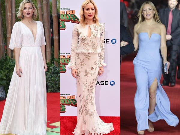Tiga Gaun Terbaik Kate Hudson di Sepanjang Premiere 'Kung Fu Panda 3'