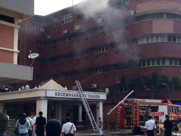 Kebakaran Terjadi di Rumah Sakit Johor Bahru Malaysia, 6 Pasien Dinyatakan Tewas