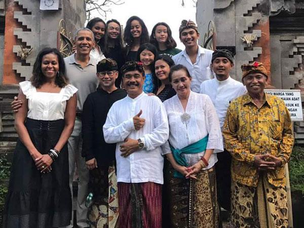 Keluarga Barack Obama Siap Lanjutkan Liburan ke Yogyakarta Setelah Bali