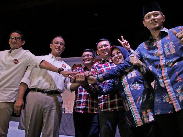 Mengintip Arah Peta Koalisi Pilgub DKI Jakarta 2017 Putaran Kedua