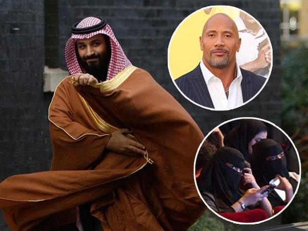 Usaha Pangeran Tingkatkan Industri Bioskop Pertama di Arab Saudi: Dinner Bareng Bintang Hollywood