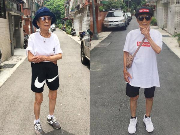 Saingi Anak Muda, Nenek Berusia 88 Tahun Ini Jadi Fashion Blogger!