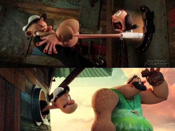 Asik, Serial Kartun 'Popeye' Akan Digarap dalam Versi Layar Lebar?
