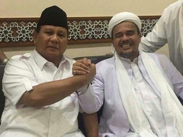 Begini Keputusan FPI Setelah Prabowo Gabung Koalisi Jokowi