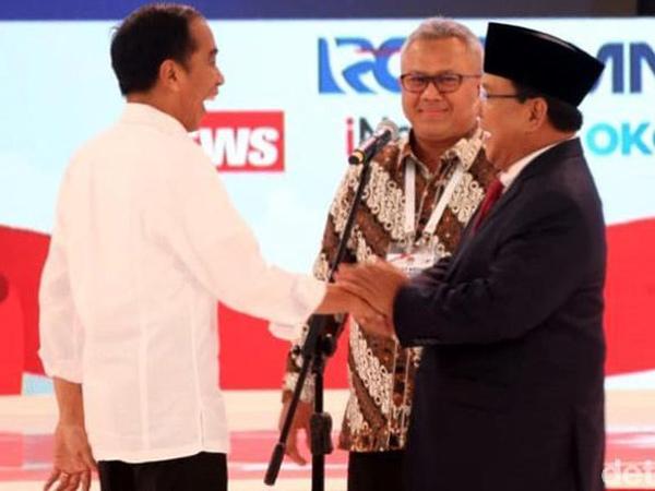 Ketika Prabowo Sepakat dengan Jokowi dalam Debat, Prabowo: Jangan Diadu-adu Terus!