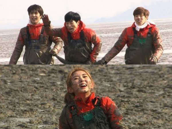 Para Idola K-Pop Ini Rela Mandi Lumpur Dalam Episode Terbaru 'Running Man'