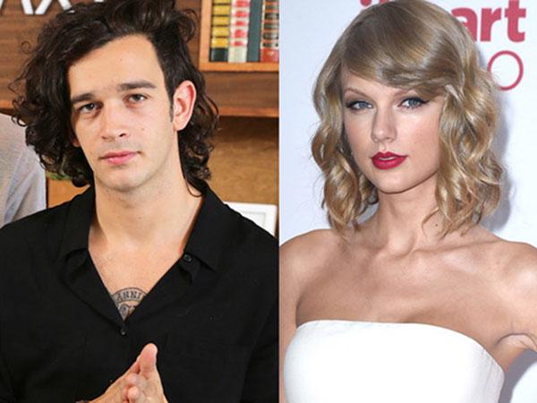 Dikabarkan Rujuk dengan Harry Styles, Taylor Swift Pacaran dengan Matt Healy 'The 1975'?