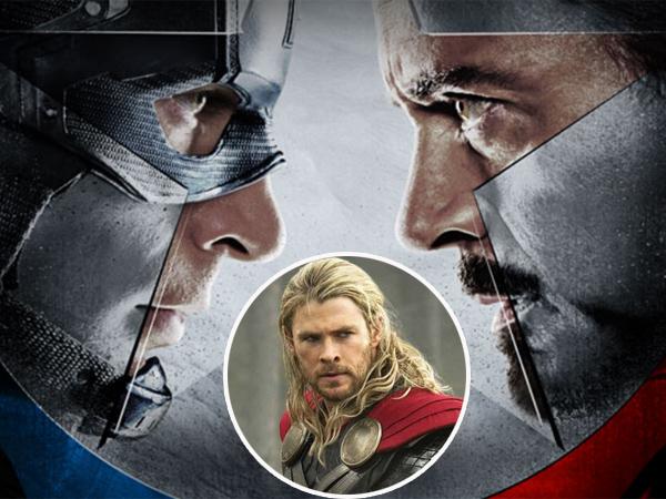 Ngambek Tak Diajak Main di 'Civil War', Tim Mana Yang Dipilih Thor?