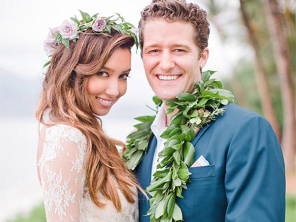 Selamat! Bintang Glee Matthew Morrison Resmi Menikah di Hawaii
