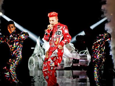 Konser di Taiwan, G-Dragon Sabet Piagam Platinum!