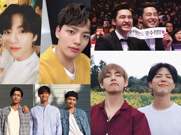 4 Persahabatan Antara Aktor dan Idola K-Pop