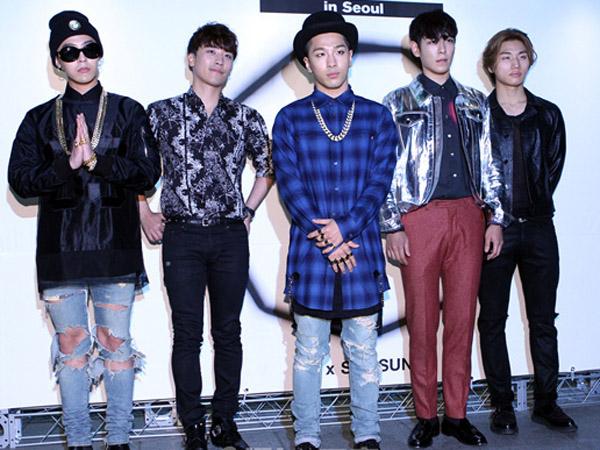 Big Bang Terlihat Syuting Video Musik Barunya di Los Angeles!
