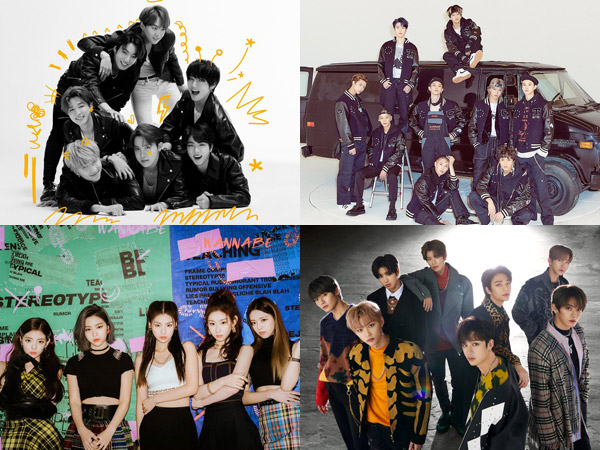 Stray Kids Debut, Inilah Artis K-Pop yang Tempati Chart Billboard World Albums Minggu Ini