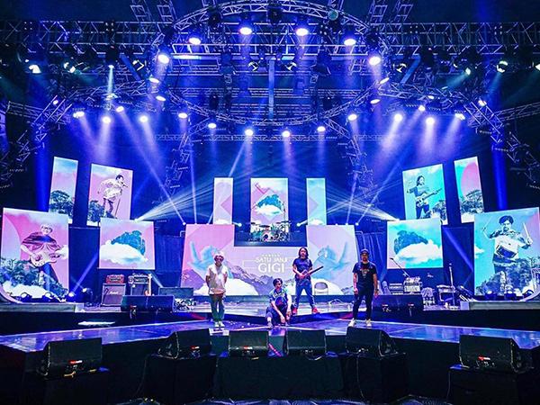 Imbas Corona, Band GIGI Gelar Konser Tanpa Penonton