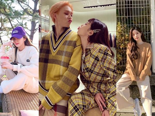 Inspirasi 6 Gaya Casual Musim Dingin Ala Idola K-Pop