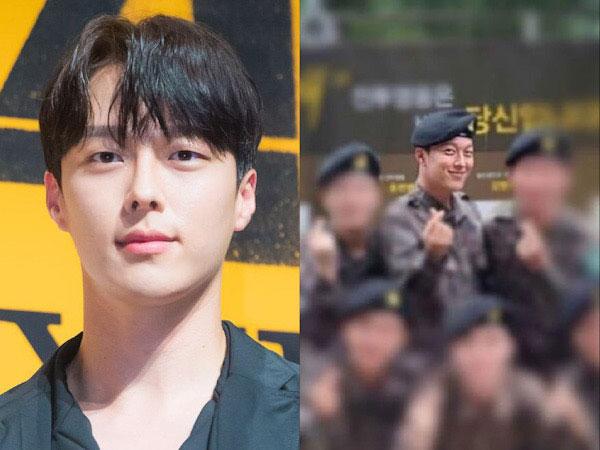 Gantengnya Nggak Luntur, Jang Ki Yong Tersenyum Lebar di Foto Wajib Militer Terbaru
