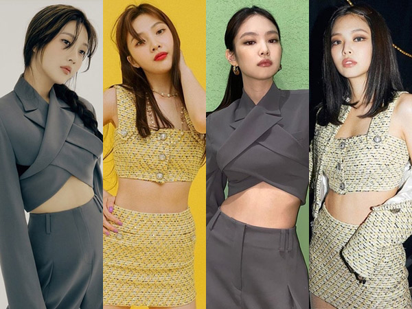 Outfit Kembar Joy Red Velvet dan Jennie BLACKPINK, Who Wore It Better?