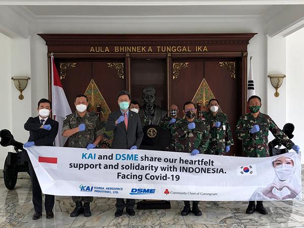 Korea Selatan Tambah Donasi 10 Ribu Alat Tes COVID-19 ke Indonesia