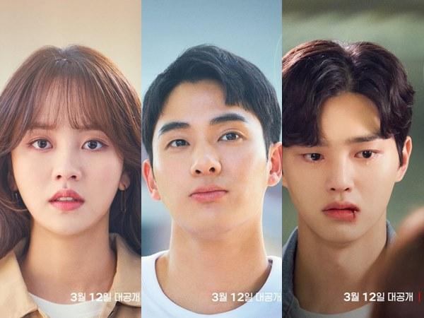 Drama Love Alarm 2 Rilis Poster Individu Lima Pemain Utama